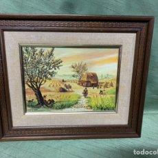 Varios objetos de Arte: BONITO CUADRO. Lote 182873975