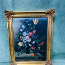 Varios objetos de Arte: ANTIGUO Y PEQUEÑO CUADRO EN SEDA. Lote 182885381
