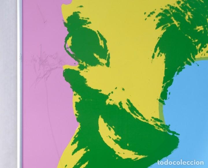 Varios objetos de Arte: Andy Warhol Pop Art-Sunday B. Morning-Marilyn Monroe-Impresión publicada posterior a su muerte - Foto 3 - 182898787
