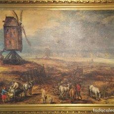 Varios objetos de Arte: MARCO DORADO RELIEVE 50 AÑOS. Lote 183212051