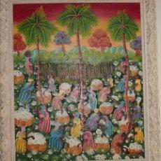 Varios objetos de Arte: CUADRO NAIF. Lote 182090630