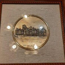 Varios objetos de Arte: CUADRO DE PLATA PALACIO MAGDALENA SANTANDER. Lote 183749865