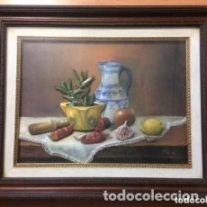 Varios objetos de Arte: CUADRO TRIDIMENSIONAL EN RELIEVE 3D ESMALTADO, CAPAS SOBREPUESTAS. MESA DECORATIVA. FIRMADO ANDREU.. Lote 183784871