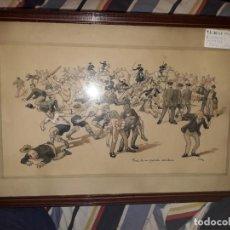 Varios objetos de Arte: ACUARELA Y PLUMILLA. Lote 184292076