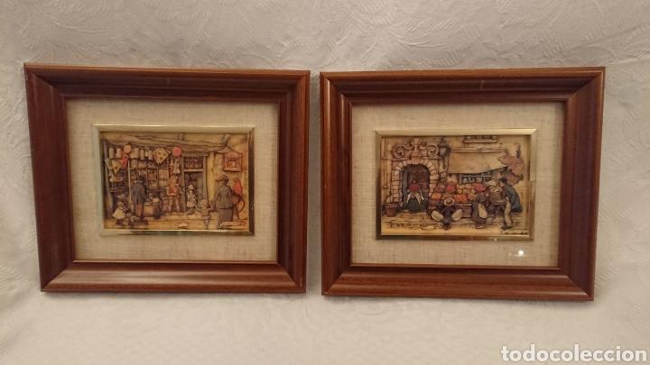 Varios objetos de Arte: DOS CUADROS DE ANTON PIECK - Foto 2 - 184840957