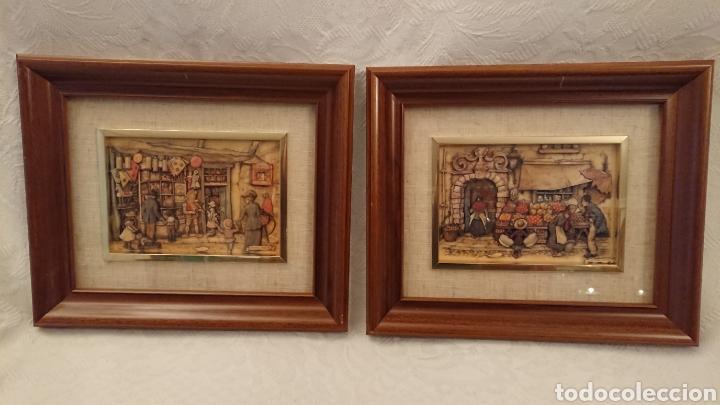 Varios objetos de Arte: DOS CUADROS DE ANTON PIECK - Foto 3 - 184840957