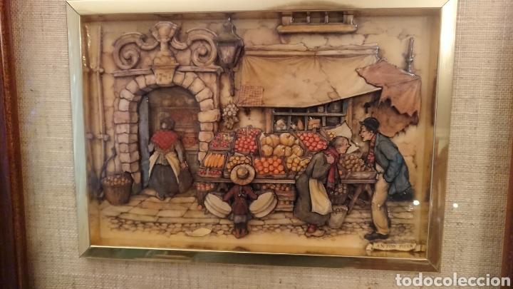 Varios objetos de Arte: DOS CUADROS DE ANTON PIECK - Foto 8 - 184840957