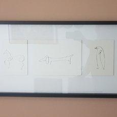 Varios objetos de Arte: CUADRO REPRODUCCIÓN PICASSO. Lote 185732127