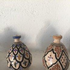 Varios objetos de Arte: PAR CERÁMICA MARROC AÑO 70. Lote 186018725