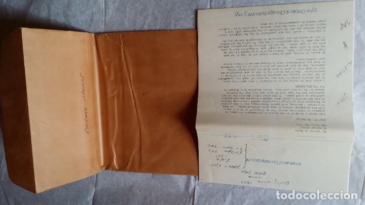 Varios objetos de Arte: WALTER DE MARIA - Marcel Duchamp, Chicago Project, SMS#1, 1968 - Foto 16 - 186213760