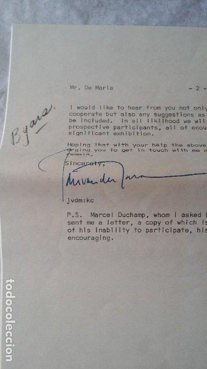 Varios objetos de Arte: WALTER DE MARIA - Marcel Duchamp, Chicago Project, SMS#1, 1968 - Foto 7 - 186213760