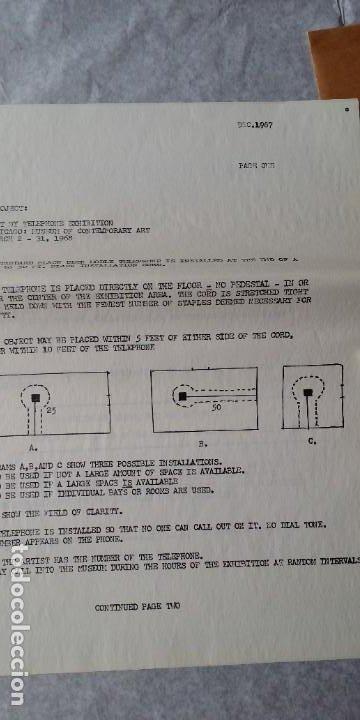 Varios objetos de Arte: WALTER DE MARIA - Marcel Duchamp, Chicago Project, SMS#1, 1968 - Foto 9 - 186213760