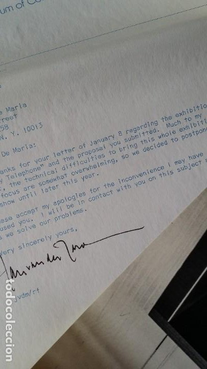 Varios objetos de Arte: WALTER DE MARIA - Marcel Duchamp, Chicago Project, SMS#1, 1968 - Foto 12 - 186213760