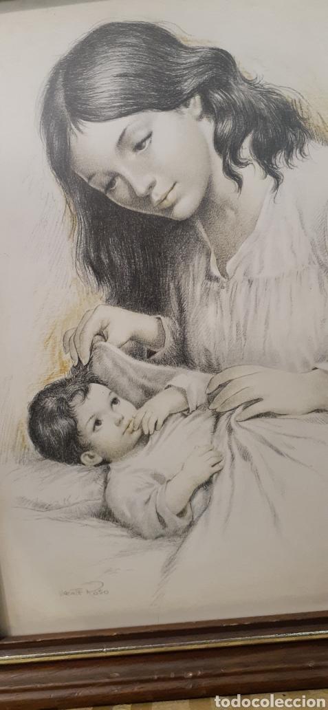 Varios objetos de Arte: Cuadros la maternidad de Vicente roso - Foto 3 - 186386415