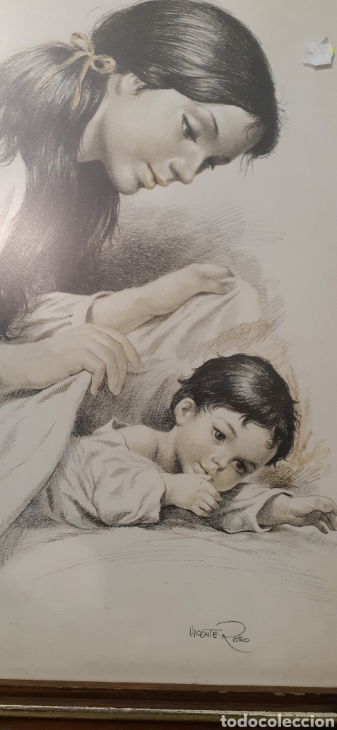 Varios objetos de Arte: Cuadros la maternidad de Vicente roso - Foto 4 - 186386415