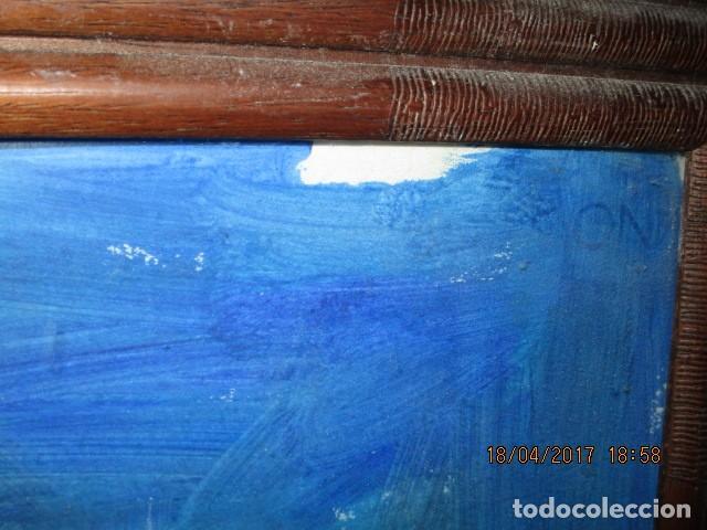 Varios objetos de Arte: OLEO SOBRE CARTON PINTURA CUBISTA AUTORRETRATO PINTOR - Foto 5 - 175041552