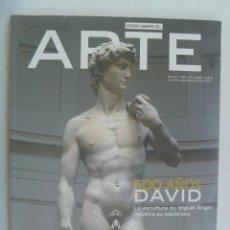 Varios objetos de Arte: REVISTA DESCUBRIR EL ARTE , Nº 65, 2004: 500 AÑOS DE DAVID, ARTE POP, EL PRADO, ETC. Lote 187115990