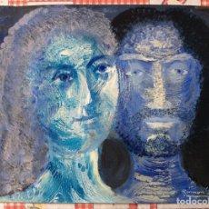 Arte: OBRA ORIGINAL RAMON LLOVET TÉCNICA MIXTA SOBRE PAPEL. Lote 188475431