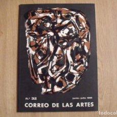 Varios objetos de Arte: CORREO DE LAS ARTES. 32. JUNIO-JULIO 1961. SIN PAGINAR. PORTADA Y POCHOIR DE ANTONIO SAURA.. Lote 188732023