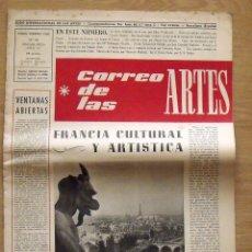 Varios objetos de Arte: CORREO DE LAS ARTES 23. ENERO-FEBRERO 1960. FRANCIA CULTURAL Y ARTÍSTICA. BARCELONA. 45X32 CM.. Lote 189110356