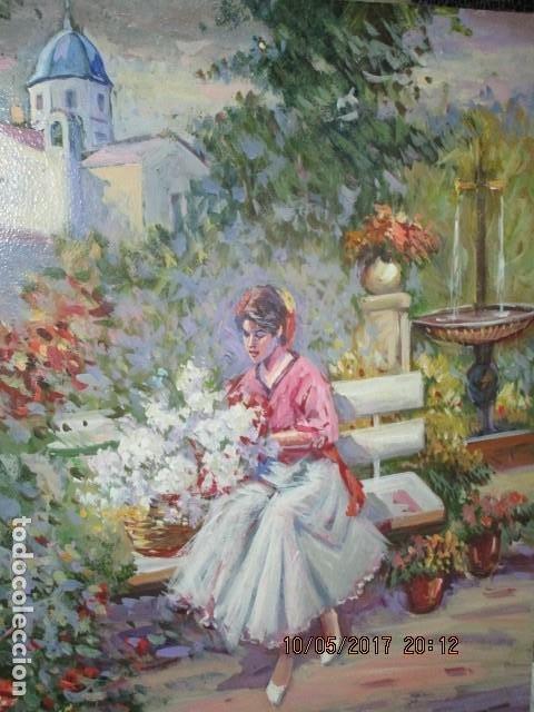 Varios objetos de Arte: PINTURA ANTIGUA OLEO ALICANTE FIRMADO SIMARRO PINTOR FAMA ALICANTINA iglesia VILLAFRANQUEZA - Foto 8 - 189748698