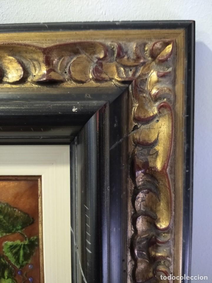 Varios objetos de Arte: FRUTAS Y FLORES 38*44 - ORO DE LEY LIQUIDO - ESMALTE AL FUEGO - SOR PAULA MARTIN - Foto 5 - 189899718