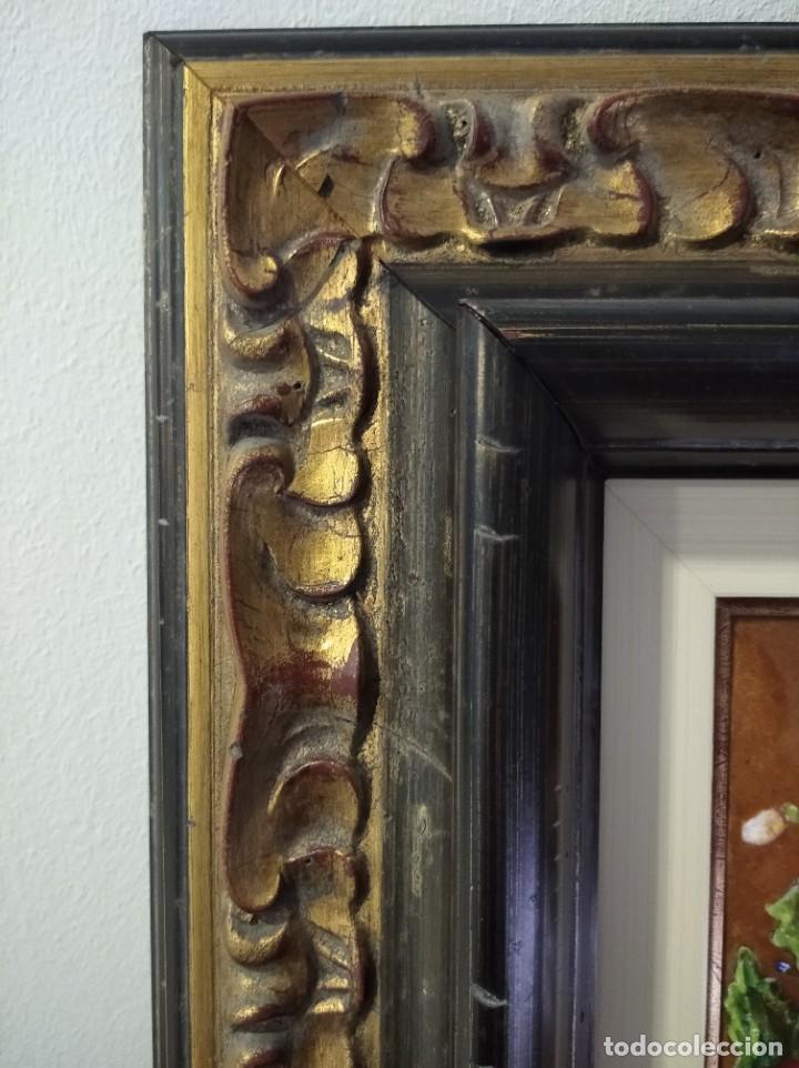 Varios objetos de Arte: FRUTAS Y FLORES 38*44 - ORO DE LEY LIQUIDO - ESMALTE AL FUEGO - SOR PAULA MARTIN - Foto 7 - 189899718