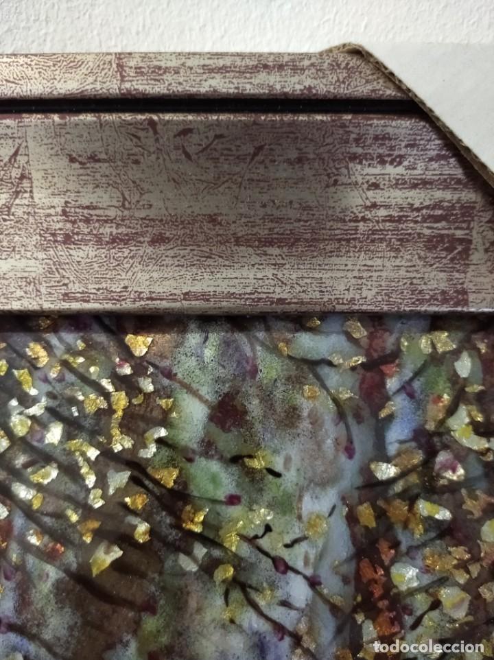 Varios objetos de Arte: ARBOL OTOÑAL 31*35 - ORO DE LEY LIQUIDO - ESMALTE AL FUEGO - SOR PAULA MARTIN - Foto 4 - 189899865