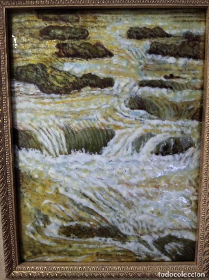 Varios objetos de Arte: RIO 40*46 - ORO DE LEY LIQUIDO - ESMALTE AL FUEGO - SOR PAULA MARTIN - Foto 5 - 189900986