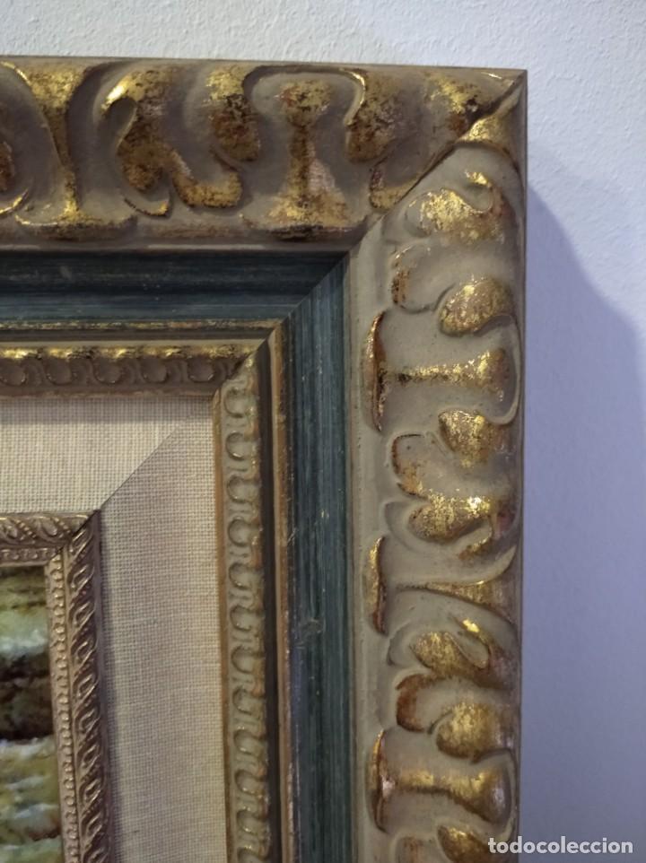 Varios objetos de Arte: RIO 40*46 - ORO DE LEY LIQUIDO - ESMALTE AL FUEGO - SOR PAULA MARTIN - Foto 6 - 189900986