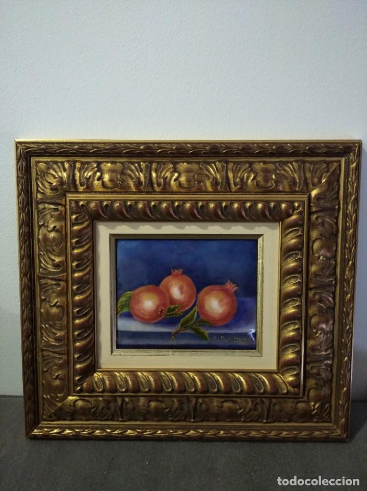 Varios objetos de Arte: GRANADAS 40*36 - ORO DE LEY LIQUIDO - ESMALTE AL FUEGO - SOR PAULA MARTIN - Foto 4 - 189901298