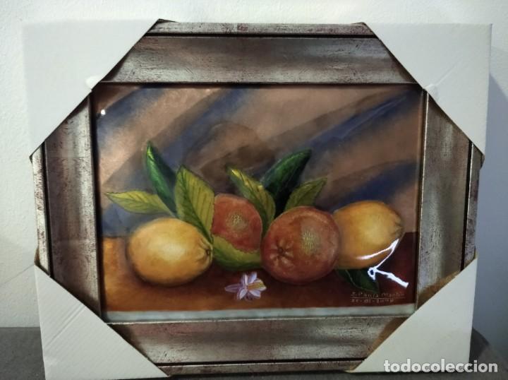 Varios objetos de Arte: FRUTAS 35*28 - ORO DE LEY LIQUIDO - ESMALTE AL FUEGO - SOR PAULA MARTIN - Foto 2 - 189901501