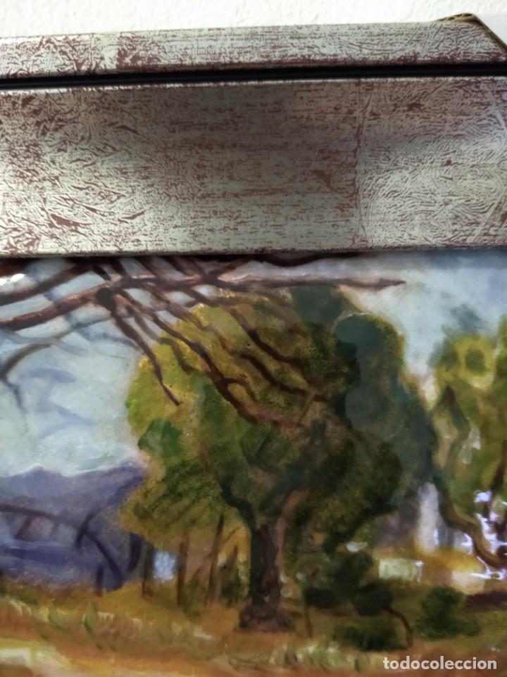 Varios objetos de Arte: PAISAJE 34*26 - ORO DE LEY LIQUIDO - ESMALTE AL FUEGO - SOR PAULA MARTIN - Foto 5 - 189901678