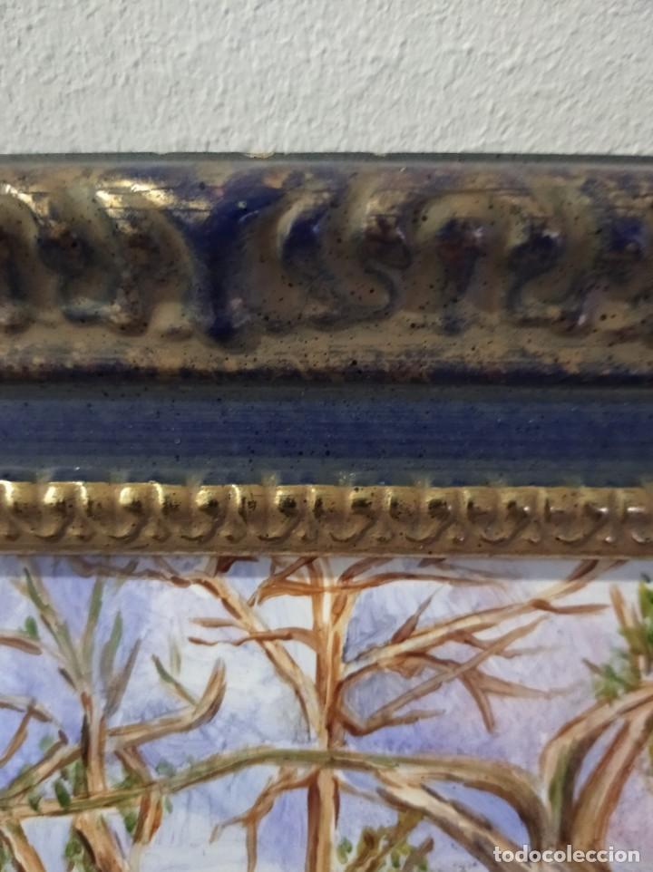 Varios objetos de Arte: PAISAJE 29*22 - ORO DE LEY LIQUIDO - ESMALTE AL FUEGO - SOR PAULA MARTIN - Foto 6 - 189902288