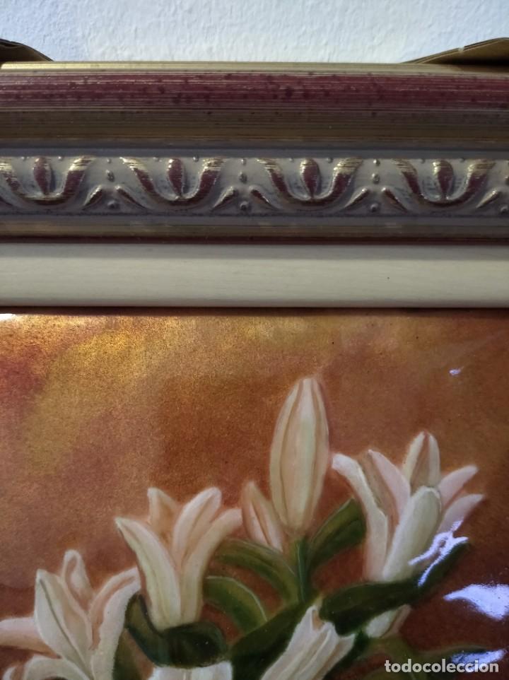 Varios objetos de Arte: JARRÓN CON FLORES 26*29 - ORO DE LEY LIQUIDO - ESMALTE AL FUEGO - SOR PAULA MARTIN - Foto 6 - 189902368