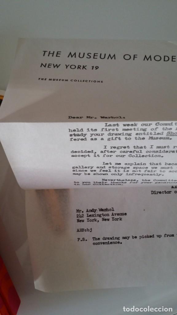 Varios objetos de Arte: ANDY WARHOL, POP, múltiple de los archivos del Museo Warhol, 2002 - Foto 15 - 190454602