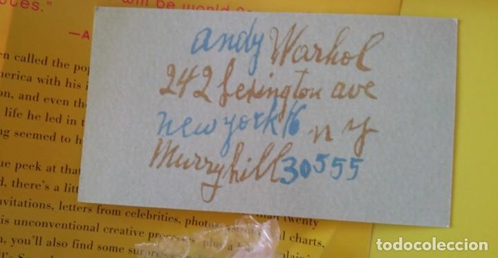 Varios objetos de Arte: ANDY WARHOL, POP, múltiple de los archivos del Museo Warhol, 2002 - Foto 12 - 190454602