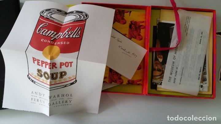 Varios objetos de Arte: ANDY WARHOL, POP, múltiple de los archivos del Museo Warhol, 2002 - Foto 9 - 190454602
