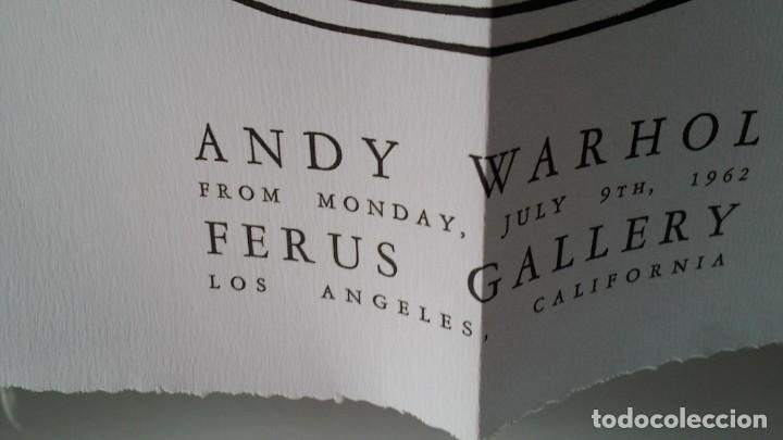 Varios objetos de Arte: ANDY WARHOL, POP, múltiple de los archivos del Museo Warhol, 2002 - Foto 10 - 190454602