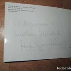 Varios objetos de Arte: PINTURA ALICANTINA FOTO CORTE MARMOL NOVELDA MEDALLA PLATA JOSE PEREZ GIL ALICANTE FIRMA DA 1966. Lote 190513192