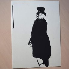 Varios objetos de Arte: GALERÍA TRECE, BARCELONA. DÍPTICO-FELICITACIÓN 1971. MARCEL PROUST POR LUIS MARSANS. Lote 190566053