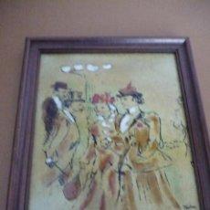 Varios objetos de Arte: ESMALTE DE LAUTREC. Lote 190833235