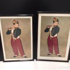 Varios objetos de Arte: LOTE DE CUADROS IMPRESION. Lote 190993842
