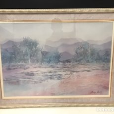 Varios objetos de Arte: HERMOSO CUADRO LAMINA ACRISTALADO. Lote 191002580