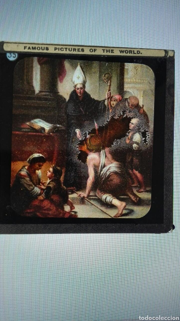 Varios objetos de Arte: ANTIGUAS PLACAS DE CRISTAL PARA LINTERNA MÁGICA. - Foto 5 - 191587595