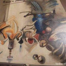 Varios objetos de Arte: RAMÓN IRANZO ÓLEO SOBRE TABLA BODEGÓN ANTIGUO. Lote 191660096