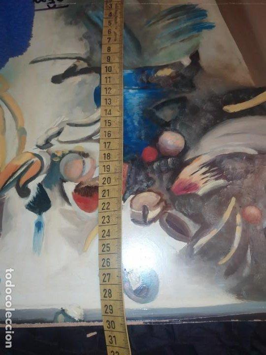 Varios objetos de Arte: RAMÓN IRANZO ÓLEO SOBRE TABLA BODEGÓN ANTIGUO - Foto 3 - 191660096