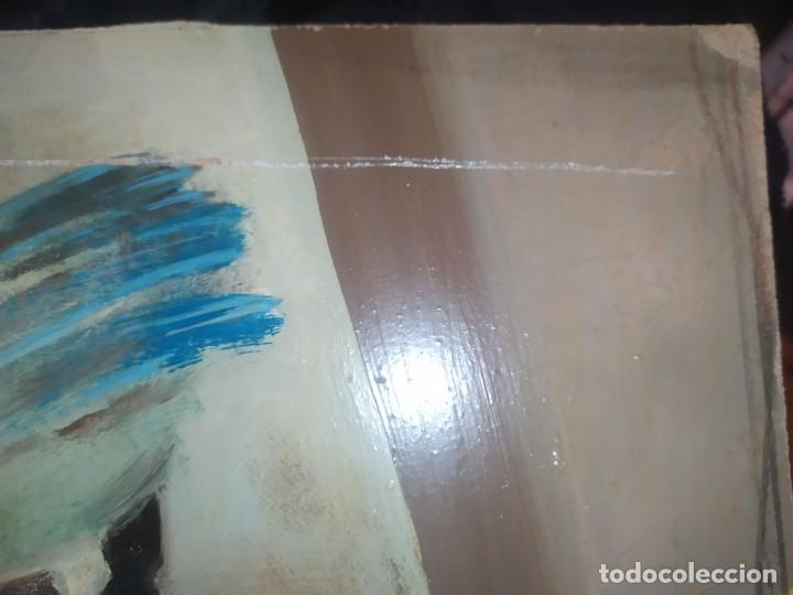 Varios objetos de Arte: RAMÓN IRANZO ÓLEO SOBRE TABLA BODEGÓN ANTIGUO - Foto 8 - 191660096