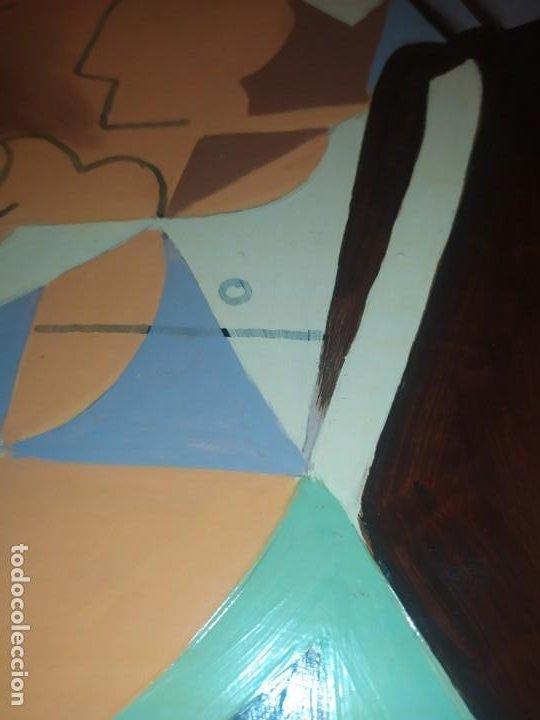 Varios objetos de Arte: ÓLEO SOBRE TABLA PICASIANO ATRIBUIDO A RAMÓN IRANZO ANTIGUO PICASSO VISITE MIS OTROS RAMÓN IRANZO - Foto 2 - 191660923