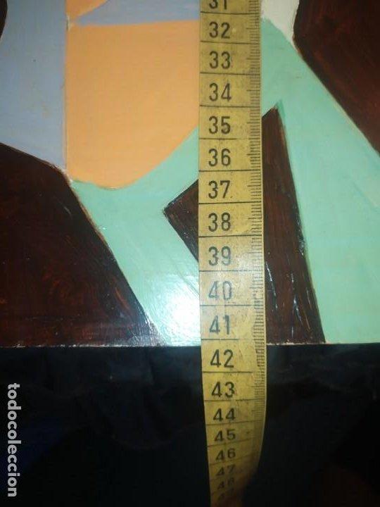 Varios objetos de Arte: ÓLEO SOBRE TABLA PICASIANO ATRIBUIDO A RAMÓN IRANZO ANTIGUO PICASSO VISITE MIS OTROS RAMÓN IRANZO - Foto 9 - 191660923